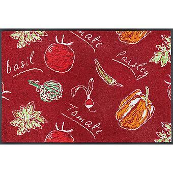 wassen + droge Veggie Deluxe keuken tapijt wasbaar tapijt