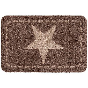 Stars nougat Salon Loewe washable floor mat