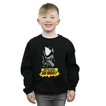 Marvel Boys Venom No Way Sweatshirt