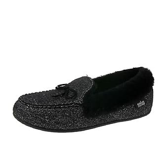 FitFlop Clara Glimmerwool Moccasin Slippers