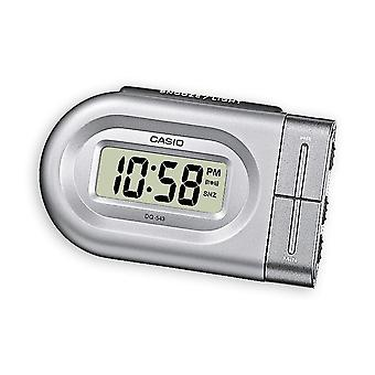Casio DQ543-8 Digital Beep Alarm Clock - Silver