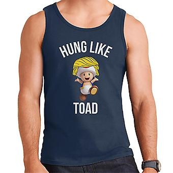 Hung Like Toad Mario Character Wig Men's Vest