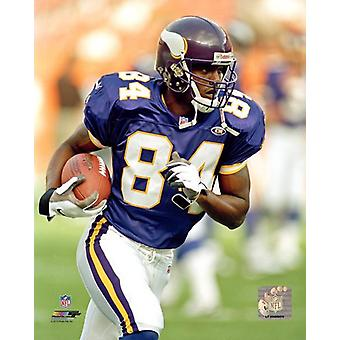 Randy Moss Action Photo Print