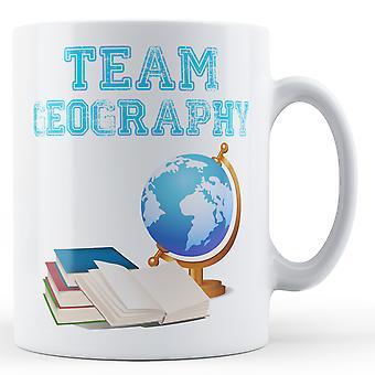 Equipe geografia - caneca impressa
