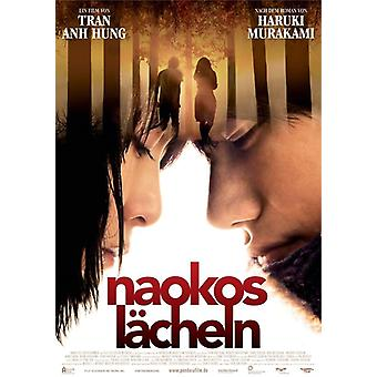 Norwegian Wood poster German movie poster
