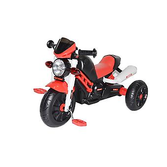 RideonToys4u Motorbike Style Pedal Trike & Push Along Red