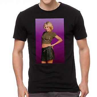 Married With Children Kelly Bundy Men's Black T-shirt