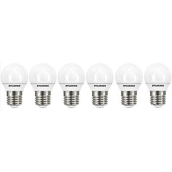 6 x Sylvania ToLEDo Ball E27 3.2W Homelight LED 250lm [Energy Class A+]