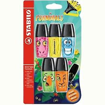 Stabilo Boss markers mini funnimals