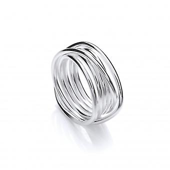 Cavendish French Silver Weave Ring