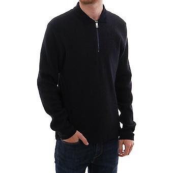 Ted Baker Mens Caoco Ls Zip Detail Polo