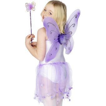Purple Butterfly Wings.