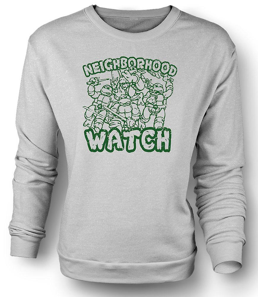 Mens Sweatshirt Teenage Mutant Ninja Turtles - Neighborhood Watch