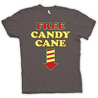 レディース t シャツ - 無料キャンディケイン - 面白いクリスマス