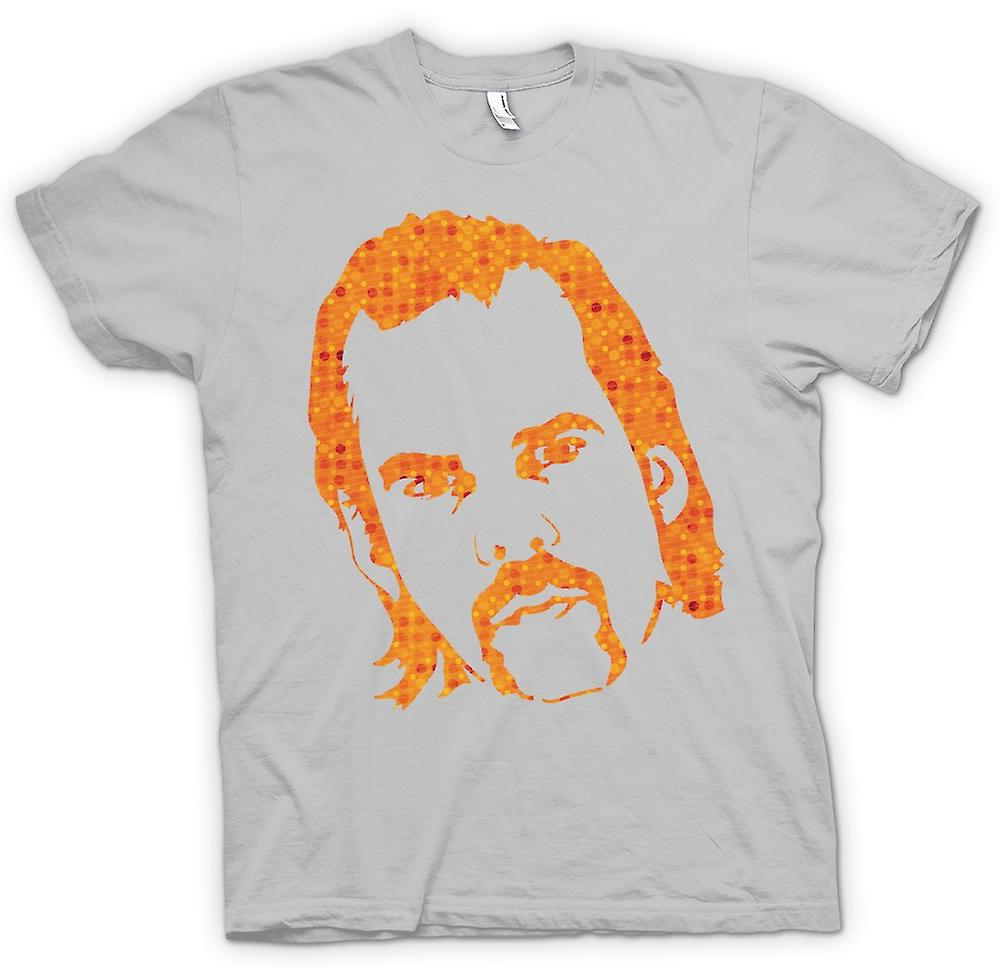 Mens T-shirt-Nick Cave-Portrait
