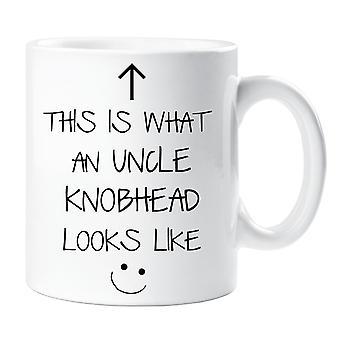 Detta är vad en farbror Knobhead ser ut mugg V2
