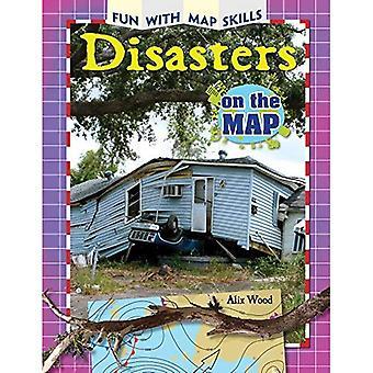 Katastrofer på kartan (kul med karta färdigheter)