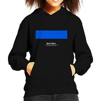 Dogma Philosophy Symbol Kid's Hooded Sweatshirt