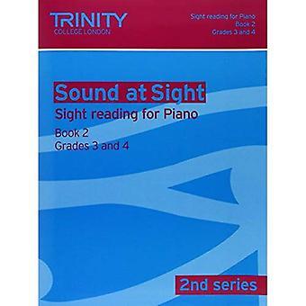 Sound at Sight Piano: Grades 3-4 Bk. 2 (Sound at Sight: Sample Sightreading Tests Second Series)
