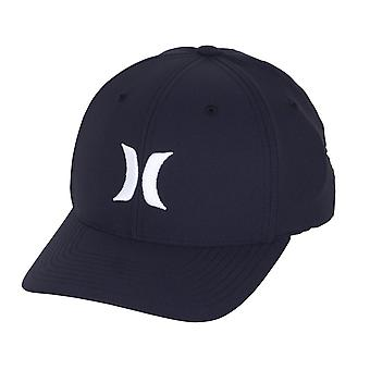 Hurley Men's Flexfit Cap ~ Dri-Fit One & Only navy white