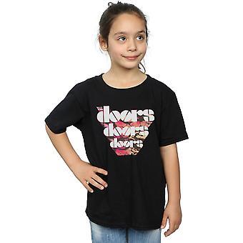 The Doors Girls Marbled Logo T-Shirt