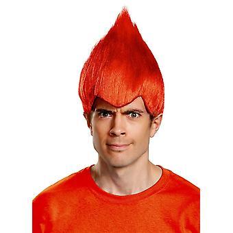 Rojo peluca loco