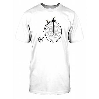Penny Farthing cykel Mens T Shirt
