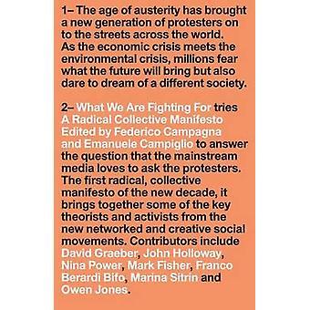Was wir kämpfen für - eine radikale kollektiven Manifest von Federico
