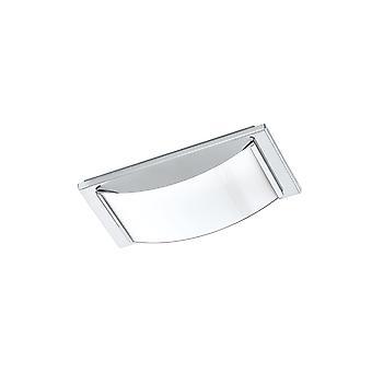 EGLO - Wasao 1 ljusa Chrome badrum ljus med Opal glas EG94881