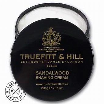 Truefitt and Hill Sandalwood Shaving Cream Bowl 190g