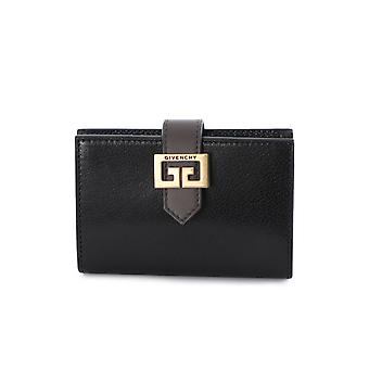 Givenchy Gv3 Black Leather Wallet