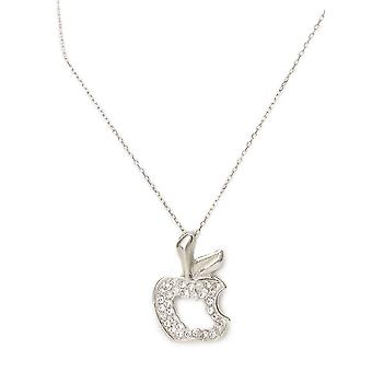 Cherry On Top – Celebrity Style Necklace With 45cm Chain & Apple Pendant