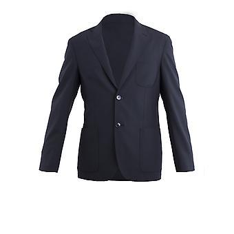 Corneliani Black Silk Blazer