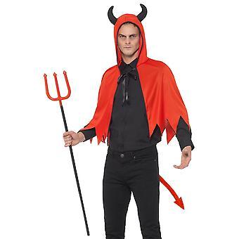 Devil costume set unisex adult Carnival Halloween Devil Kit