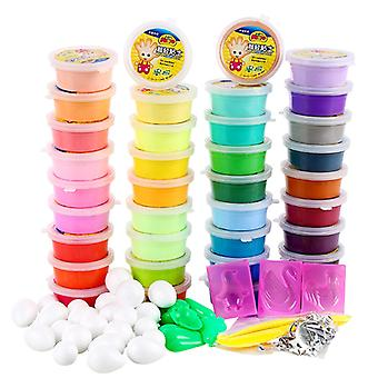 Modelling Foam Clay- 10 Tubs in Assorted Colours - Clay for Kids Children Modelling Crafts