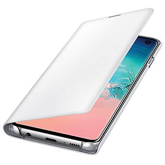 Official Samsung LED View Cover Case for Samsung Galaxy S10 - White