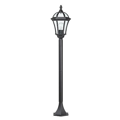 Endon YG-3504 Stylish Traditional Black Aluminium Outdoor Small Post