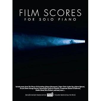 Film Scores for Solo Piano (Book/Audio Download) - 9781783059492 Book