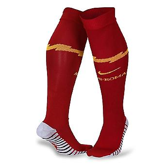 2019-2020 AS Roma Nike Home Socks (Orange)
