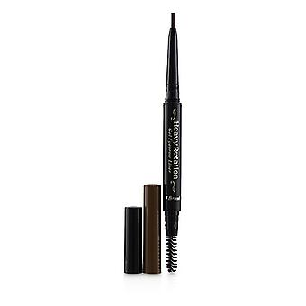 KISS ME Heavy Rotation Gel Waterproof Eyebrow Liner - # 02 Dark Brown 0.1g/0.004oz