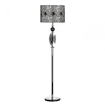 Premier Home Azura Floor Lamp, Polyresin, Black