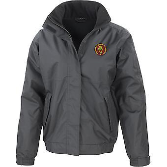 UDR Ulster Defense Regiment Farbe - lizenzierte britische Armee bestickt wasserdichte Jacke mit Fleece Inner