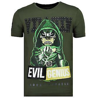 Villain Duck-Fun T Shirt men-6325G-Green