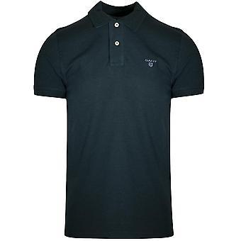 Gant GANT Forest Green Melange Polo Shirt