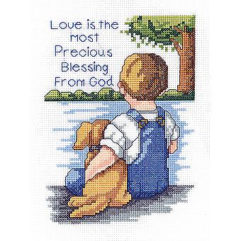 Precious Blessing Mini Counted Cross Stitch Kit 5