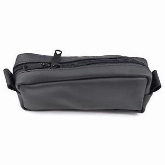 The Slim Mini Men's Leather Wash Bag by Executive Shaving
