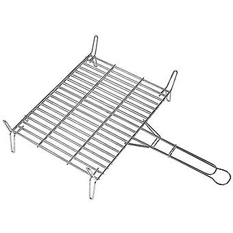 Alperk Double Grill 35x45 galvanized (Garden , Barbecues , Cooking tools)