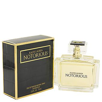 Notorious By Ralph Lauren Edp Spray 75ml