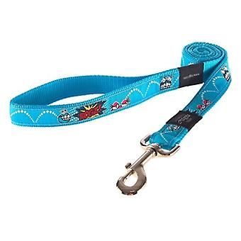 ROGZ FOR DOGS SCOOTER LIJN COMIC TURQUOISE 16 MMX1,4 MTR