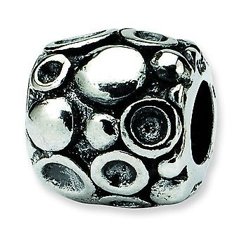 Sterling Silver Reflections SimStars Dots Bali Bead Charm